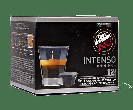 Кафе капсули Caffe Vergnano 1882 Intenso съвместими с Dolce Gusto 12 бр.