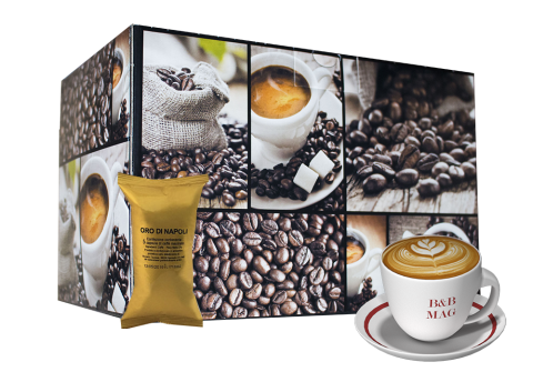 Кафе капсули Oro di Napoli 100 бр. съвместими с Nespresso