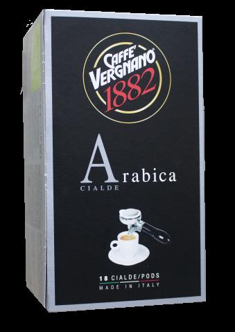 Кафе филтри дози Vergnano 100% Арабика ESE 44 мм 18 бр.