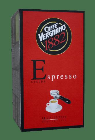 Кафе филтри дози Vergnano Espresso ESE 44 мм 18 бр