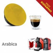 Капсули Italian Coffee 100% Arabica MAXI RISPARMIO съвместими Lavazza A Modo Mio 100 бр