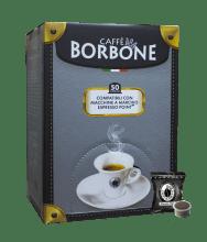 Капсули за кафе Borbone Nera съвместими с Lavazza Espresso Point 50 бр.