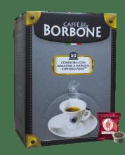 Капсули за кафе Borbone  Rossa съвместими с Lavazza Espresso Point 50 бр.