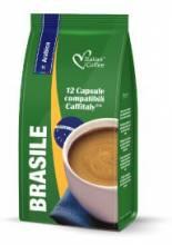 Капсули за кафе Italian Coffee кафе Бразилия 100% Арабика 12 бр. система Caffitaly