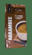 Капсули за кафе Italian Coffee Harambee 12 бр. система Caffitaly