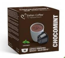 Капсули Italian Coffee Шоколад с мента съвместими с Nescafe Dolce Gusto 16 бр.