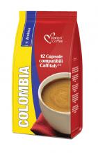 Капсули за кафе Italian Coffee кафе Колумбия 100% Арабика 12 бр. система Caffitaly