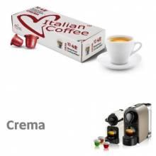 Капсули за кафе Italian Coffee Crema Cremoso съвместими с Nespresso 10 бр.