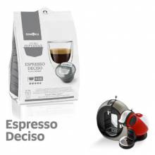 Капсули Gimoka Espresso DECISO съвместими с Nescafè Dolce Gusto 16 бр