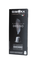 Капсули Gimoka DECISO 10 бр. съвместими с Nespresso