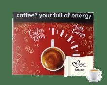 Кафе капсули Italian Coffee Intenso 50 бр. съвместими с Martello