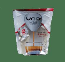 Кафе капсули Illy Tostatura Media Rossa съвместими с UNO система на Illy и Kimbo, 16 бр.