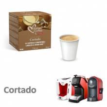 Капсули Italian Coffee Macchiato Cortado съвместими Lavazza A Modo Mio 12 бр