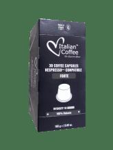 Капсули за кафе Italian Coffee Forte съвместими с Nespresso 30 бр.
