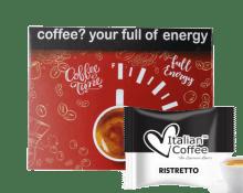 Кафе капсули Italian Coffee Ristretto 50 бр. съвместими с Martello