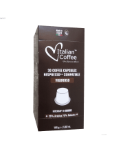 Капсули за кафе Italian Coffee Vigoroso съвместими с Nespresso 30 бр.