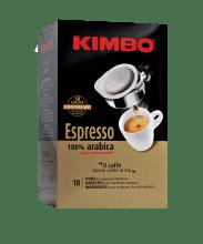 Кафе филтри дози Kimbo 100% Arabica 18 бр.