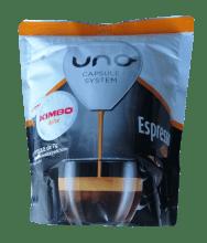 Кафе капсули Kimbo Dolce съвместими с UNO система на Illy и Kimbo