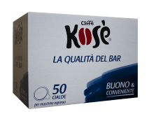 Кафе филтър дози Kosè Audace E.S.E. 50 бр.