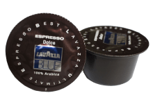 Кафе капсули Lavazza Espresso Dolce 100% Arabica 100 бр. съвместими с Lavazza Blue