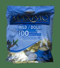 Кафе филтри дози Maximo Mild 100 бр. 62 мм