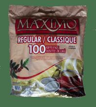 Кафе филтри дози Maximo Regular/Класик 100 бр. 62 мм