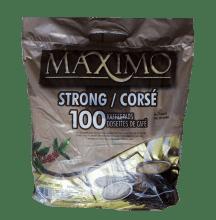 Кафе филтри дози Maximo Strong 100 бр. 62 мм