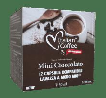 Капсули Italian Coffee Mini Cioccolato съвместими Lavazza A Modo Mio 12 бр
