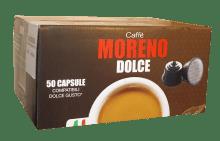 Кафе капсули Moreno Espresso Bar съвместими с Dolce Gusto 50 бр.