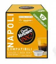 Кафе капсули Vergnano 1882  Napoli съвместими с Lavazza A Modo Mio 16 бр.