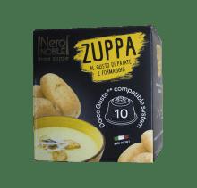 Супа картофена със сирене NeroNobile - 10 капсули съвместими с Dolce Gusto
