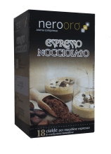 Кафе на филтър дози Nerooro лешник и шоколад 18 бр. Ese 44 мм