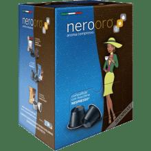 Капсули за кафе Nerooro Miscela Oro 50 бр. съвместими с Nespresso