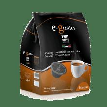 Кафе капсули Pop Caffè Intenso съвместими с Dolce Gusto 16 бр.