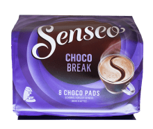Кафе дози Senseo Choco Break 8 бр. - 62 мм