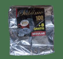 Кафе филтри дози Sublimo Regular 108 бр. - 62мм