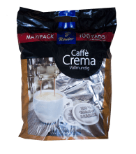 Кафе филтри дози Tchibo Caffè Crema Vollmundig 100% Арабика /100 бр. - 62мм