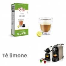 Капсули чай лимон Italian Coffee 10 бр. съвместими с Nespresso