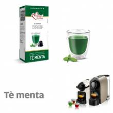 Капсули Italian Coffee чай мента съвместими с Nespresso 10 бр.