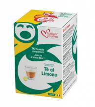 Капсули Italian Coffee чай лимон съвместими Lavazza A Modo Mio 16 бр