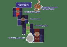 Дегустационен комплект от 40 смесени кафе филтър дози ToDa ESE 44 мм