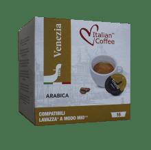 Капсули Italian Coffee Venezia Arabica съвместими с Lavazza A Modo Mio 16 бр
