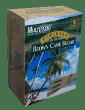 Кафява захар в пакетчета - 100 бр.